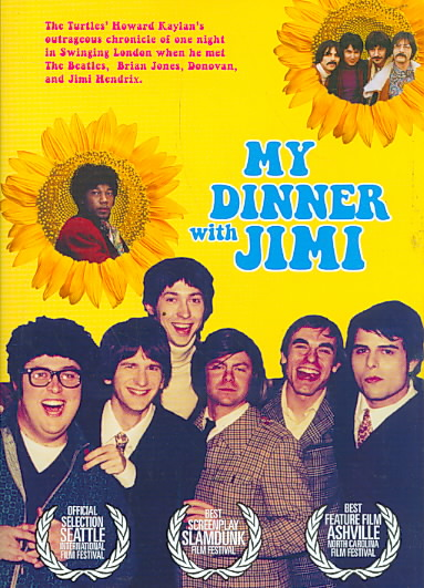 MY DINNER WITH JIMI (HENDRIX) BY HENRY,JUSTIN (DVD)